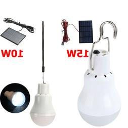 10W/15W LED Bulb Light Lot Panel Outdoor Indoor Camping Sola