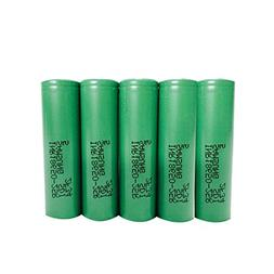 5 Samsung INR18650-25R 18650 2500mAh 3.7v Rechargeable Flat