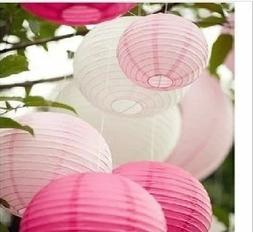 """5 or 10 pieces OF 8"""" 10"""" 12"""" Chinese Paper Lantern Wedding P"""