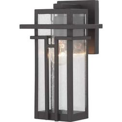 boxwood collection 1 light bronze outdoor wall