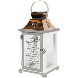 """CHRISTMAS IN HEAVEN Memorial Candle Lantern, 13.5"""" Tall, by"""