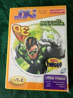 Fisher Price iXL Learning System Software Green Lantern 3D G