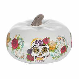 Elanze Designs Floral 6 inch Resin Day of the Dead Decorativ