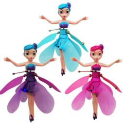 Flying Fairy Princess Dolls Toy Induction Infrared Magic Gam