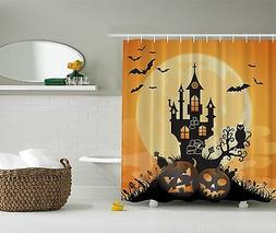 Halloween Decoration Jack o Lantern Haunted House Bats Pumpk