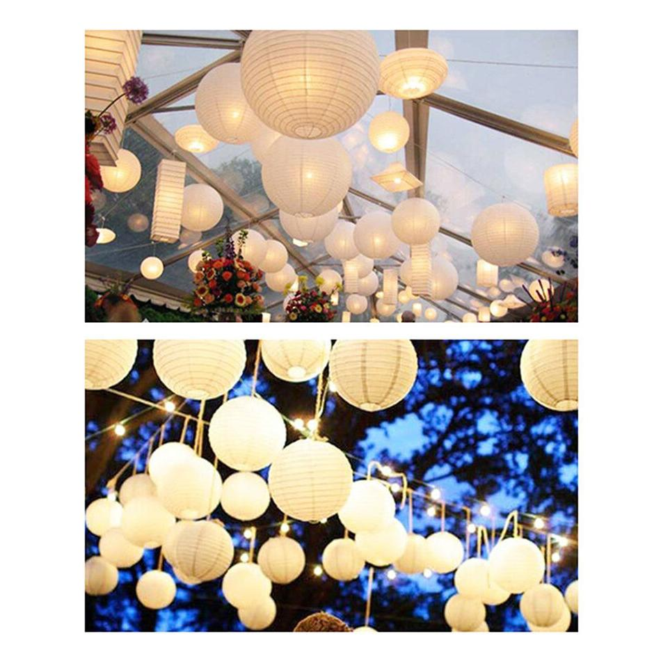 """10 """" Paper Shades Home Wedding Party Decor"""