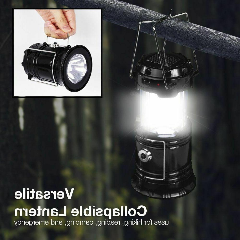 4-Pack Collapsible Outdoor Camping LED Hand Lamp