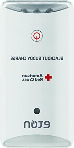 American Red Cross Blackout Buddy Charge Emergency LED Flash