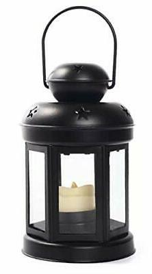 Candle Lantern With Led Flameless Candle | Indoor Outdoor Ta