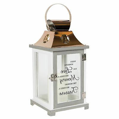 SOMEONE YOU LOVE BECOMES MEMORY... Memorial Candle Lantern,