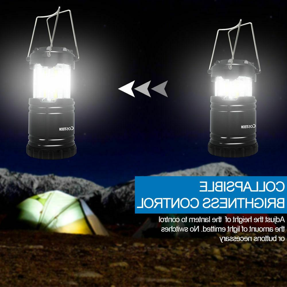LED Portable COB Bright Collapsible Lamp