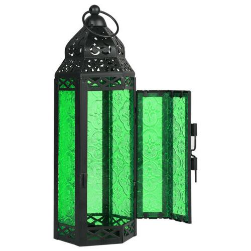 Moroccan Style Candle Lantern Candle Holder Glass