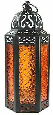 Moroccan Style Candle with Medium, Glass