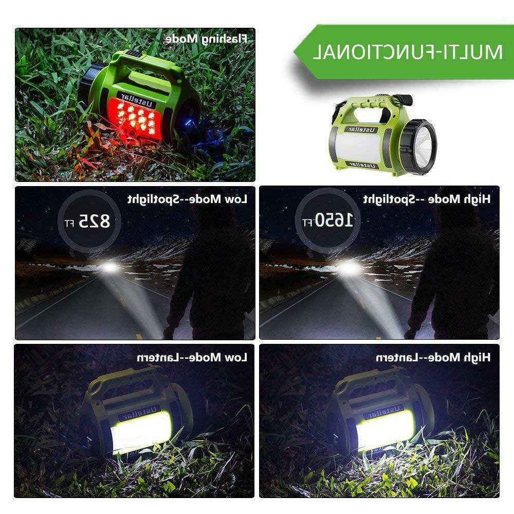 Novo Rechargeable Camping Searchlight Spot light