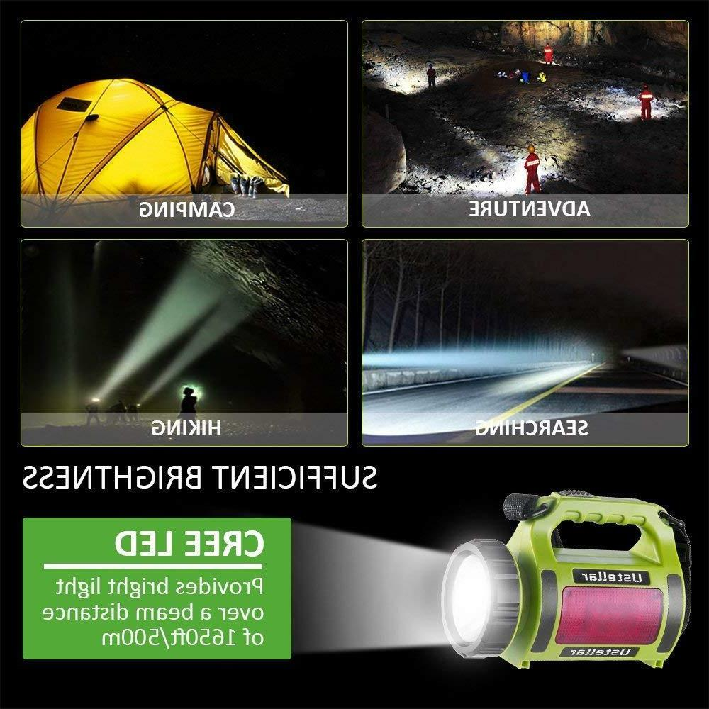 Novo Rechargeable Camping Searchlight light