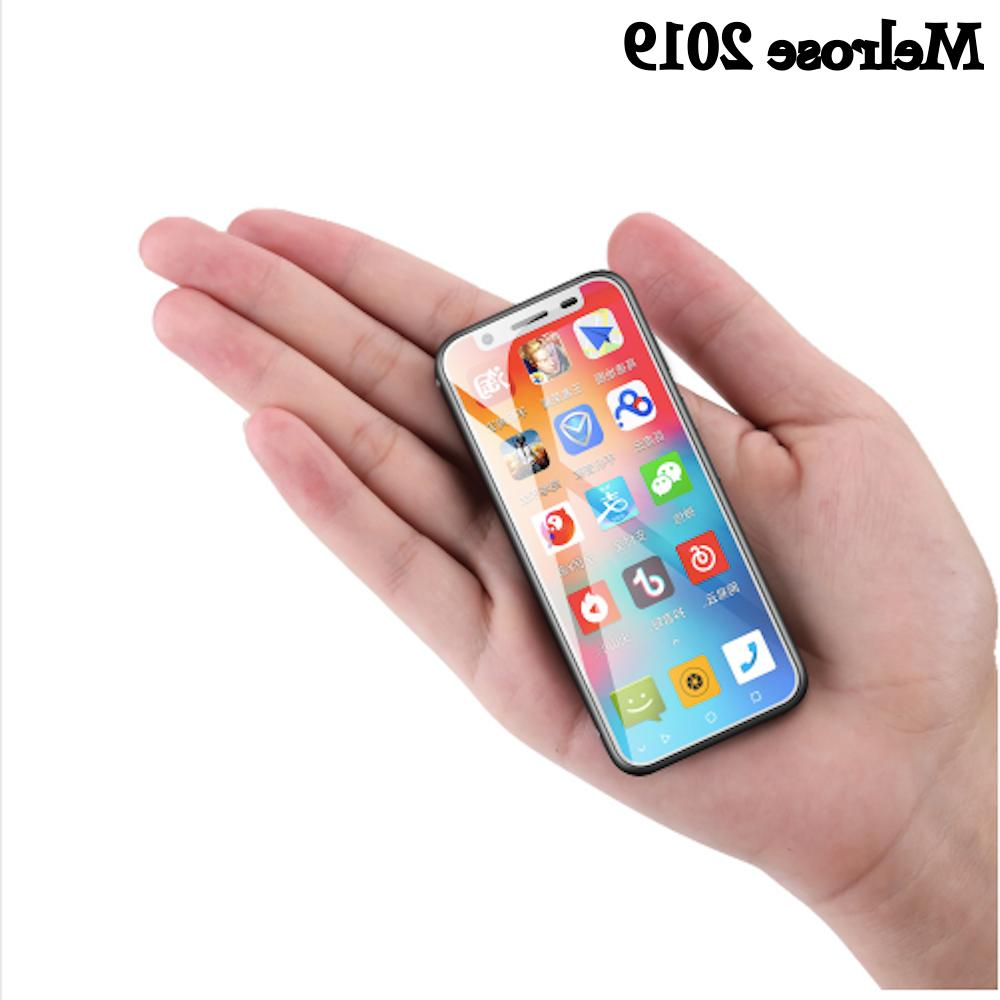 Smallest 4G Smartphone Melrose 2019 1GB 8GB Android 8.1 Dual
