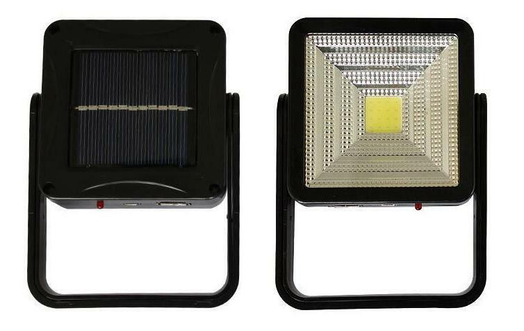 solar rechargeable outdoor camping lantern light led