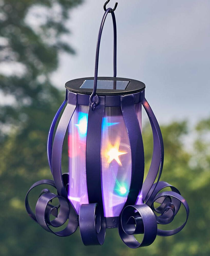 Solar Scroll Multicolored Lights or Tabletop