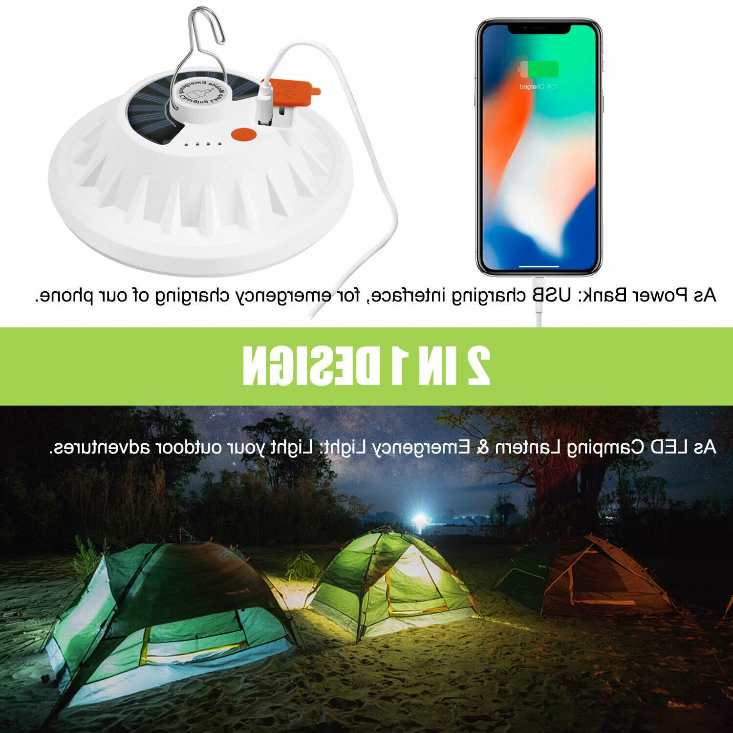 USB Camping Tent Light Lantern Hiking
