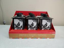 Gerson Lanterns 8.25'H B/O Bird with Fire Effect and Timer