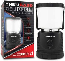 GearLight LED Camping Lantern S1300 - 72 Hours Battery Power