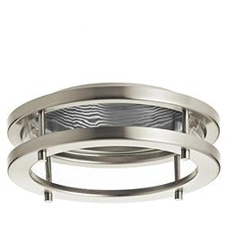 Kichler Marita Brush Nickel and Silver Baffle Recessed Light