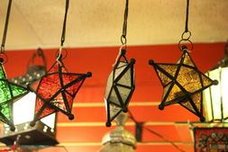 Moroccan Star Candleholder Indoor Patio Porch Decor Gift Lan
