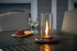 Outdoor Greatroom Intrigue Spinning Fire table top lantern