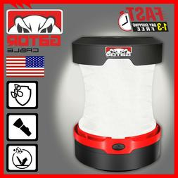 Portable Camping Hurricane LED Collapsible Lantern Light Lam