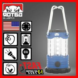 Portable Camping Hurricane LED Lantern Adjustable Light Lamp