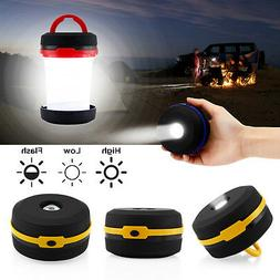 Portable Camping Lantern USB LED Hiking Night Light Lamp Col