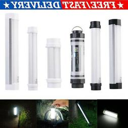 Rechargeable LED Hiking Camping Tent Lantern Lights USB Lamp