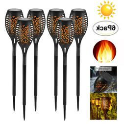 Solar Power LED Flickering landscape Torch Yard Garden Danci