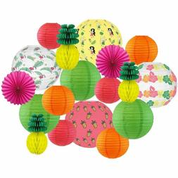 totally tropical decorative round chinese paper lanterns